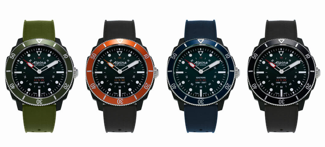 Lance Connectée Alpina SmartwatchLa Montre Horological Seastrong 8wnOX0Pk