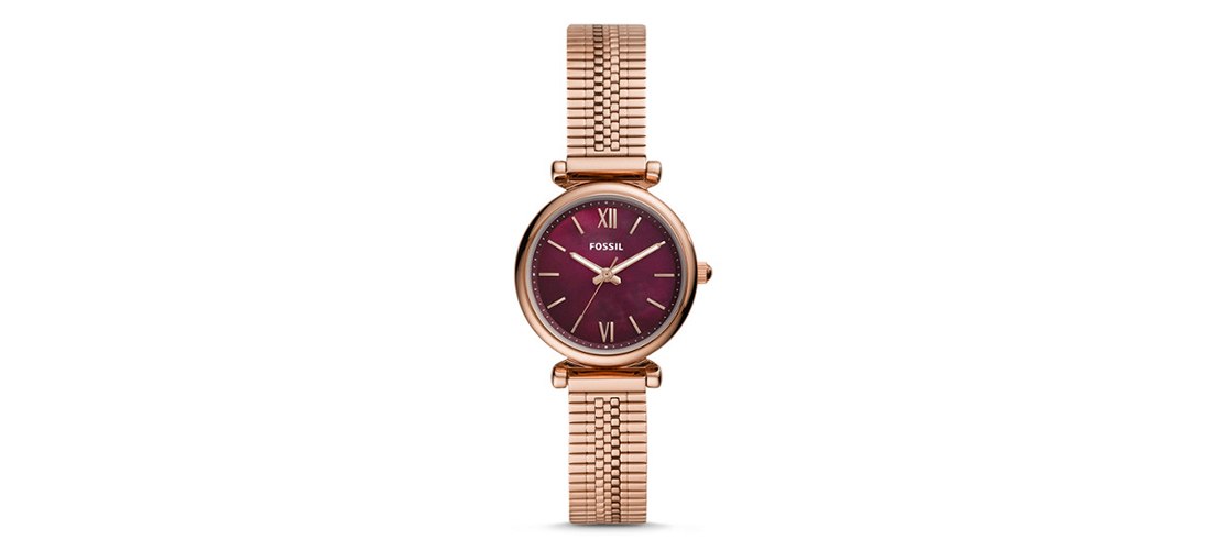 Fossil nouvelle collection Carlie